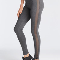 Mesh-trim Legging