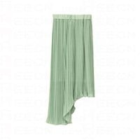 Bouffancy Two-ways Light-green Skirt - Skirts - dressmall.com