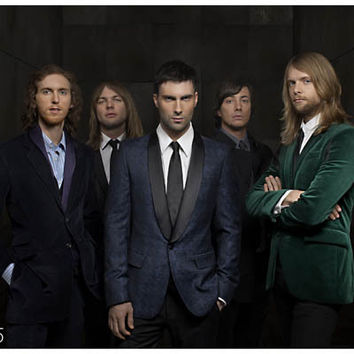 Maroon 5 Band Portrait Poster 11x17