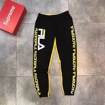 Fila Fashion Casual Pants Trousers Sweatpants