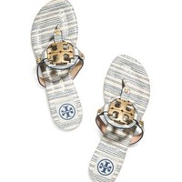Tory Burch Miller Striped Sandal