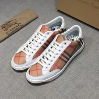 Burberry Men or Woman Fashion Casual Shoes Flats Shoes