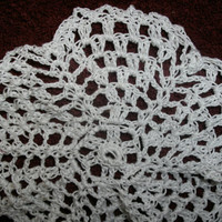 Handmade crocheted pinwheel doily by CanadianCraftCritter on Etsy