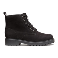 H&M Lace-up Boots $39.99