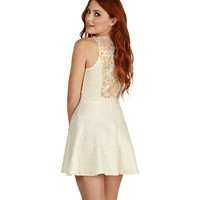 And Gold Bliss Skater Dress