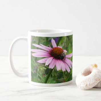 Pink Wildflower Coffee Mug