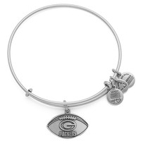 Green Bay Packers Football Charm Bangle