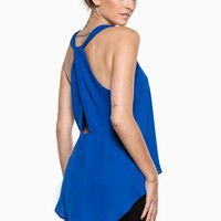 ShopSosie Style : Darling Tank Top in Royal