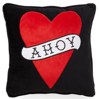 Greetings, Me Hearties Pillow | Mod Retro Vintage Decor Accessories | ModCloth.com