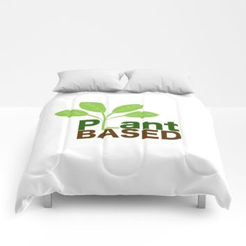 Plant Based Vegan Art Comforters by UMe Images