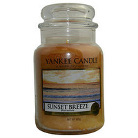 YANKEE CANDLE SUNSET BREEZE SCENTED LARGE JAR 22 OZ UNISEX