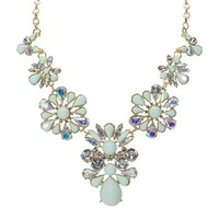 Troy Designs Juniors Large Flower Statement Necklace at Dry Goods