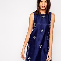 True Decadence Jewel Shift Dress