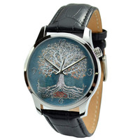 Tree of life Watch Big size - Free shipping - Unisex watch