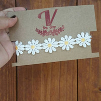 Daisy flowers choker! Disney princess