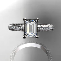 platinum diamond unique engagement ring,wedding ring ADER113