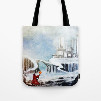 The North Tote Bag by Moonlit Emporium