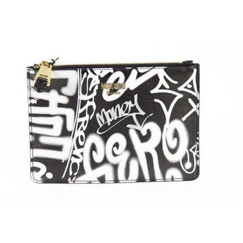 Moschino Womens Handbag A8414 8010 CLUTCH A1555