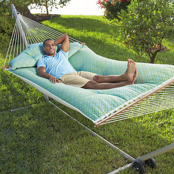 Tufted Fabric Hammock