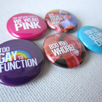 Mean Girls Pinback Button Set