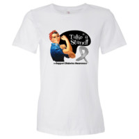 Diabetes Take a Stand Women's Fashion T-Shirts