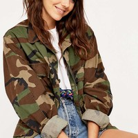 Urban Renewal Vintage Originals Camo Jacket - Urban Outfitters