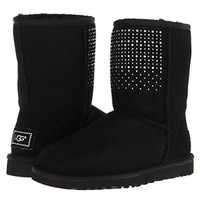 UGG Australia Classic Short Bling Swarovski Boots Women SHOES AUTHENTIC SZ 6
