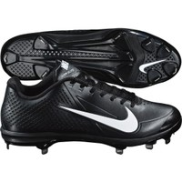 Nike Men's Zoom Vapor Elite Metal Baseball Cleat - Black/White | DICK'S Sporting Goods