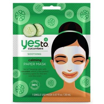 Yes To Miracle Oil Argan Oil Mud Mask, Cucumber Mask, Or Coconut Mask