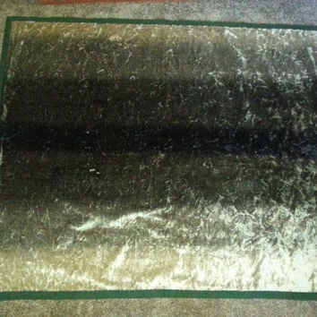 "Vintage Early 1900s Horse Hair Carriage Buggy Motorobe Lap Carriage Blanket 49 1/2"" x 60"""