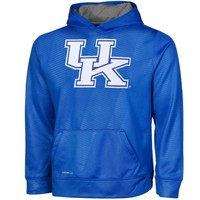 Nike Kentucky Wildcats Youth KO Performance Hoodie - Royal Blue