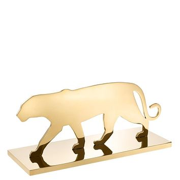 Gold Decorative Object   Eichholtz Panther Silhouette
