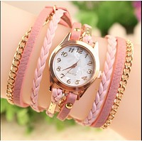 Fashion men women Ladies Sports wrist Quartz watches