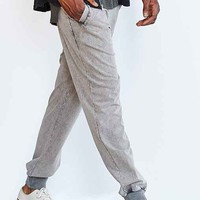 Native Youth Stonewashed Jogger Pant - Washed Black