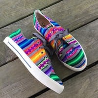 Serape kicks *Grey/Multi fiesta* from PeaceLove&Jewels