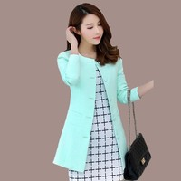 Elegant Women Long Blazer