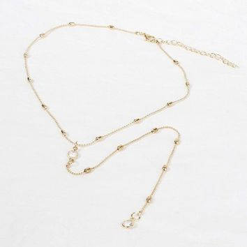 C MISM New Simple Multi Layers Love Heart Chain Necklace Women Gold Long Beads Tassel Choker Korean Fashion Charm Girls Jewelry
