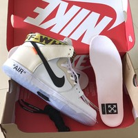 OFF-WHITE x NIKE DUNK SB HIGH 36---45