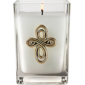 Aromatique The Smell of Spring Candle with Cross