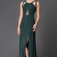 Abbie Vonn Open Back Prom Dress