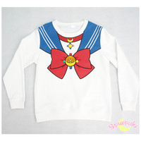 [Sailor Moon Crystal] Manga Version Bow Fleece Jumper SP151633