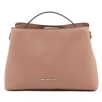 Michael Kors Womens Handbag PORTIA 35S7GPAL3L DUSTY ROSE