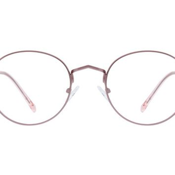 Rose Gold Round Glasses #3213219 | Zenni Optical Eyeglasses