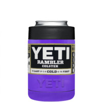 YETI Purple Gloss Colster Can Cooler & Bottle Insulator