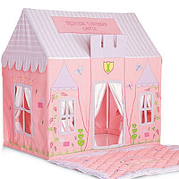 personalized princess castle play tent