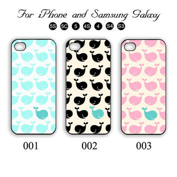 Little Whale,iPhone 5 case,iPhone 5C,iPhone 5S,Samsung Galaxy S3, Samsung Galaxy S4 Phone case,iPhone 4 Case, iPhone 4S Case