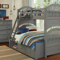 Boardwalk Twin over Full Bunk Bed