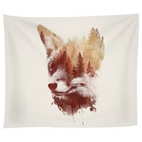 Blind Fox Tapestry