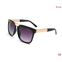 Louis Vuitton LV Fashion Women Men Summer Sun Shades Eyeglasses Glasses Sunglasses 1#/Black I-ZXJ