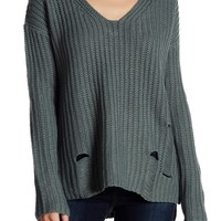 SUPPLIES BY UNION BAY | Amy Knit Crisscross Back Sweater | Nordstrom Rack